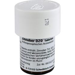 ZINNOBER D 20 Tabletten 80 St.