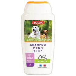ZOLUX Shampoo mit dem Pflanzenextrakt von Bourrache 2in1 250ml