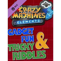 Crazy Machines: Elements - Gadget Fun & Tricky Riddles (PC) - Steam Key - GLOBAL