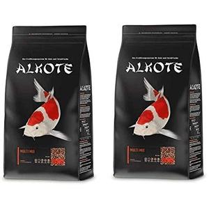 AL-KO-TE Multi Mix 6 mm   2X 9kg Vorteilspackung Koifutter   Teichfische mit Alkote Koifutter füttern