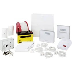 ABUS AZ4350 Terxon SX Profiline Alarmanlagen-Sets Alarmzonen 8x Drahtgebunden, 1x Sabotagezone