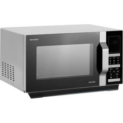 Sharp Mikrowelle R890S, Mikrowelle, Grill, Heißluft, 28 l