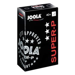 JOOLA® Tischtennisbälle SUPER-P, Weiß, 6er Karton