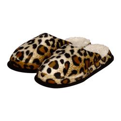 Licardo Hausschuhe Wellness-Pantoffel Tieroptik Gepardfell Hausschuh 42/43