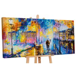 YS-Art Gemälde Romantischer Abend 142
