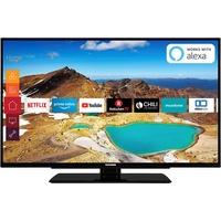 Telefunken XU50G521 127cm (50 Zoll) Fernseher 4K Ultra HD, HDR 10, Triple-Tuner, Smart TV, Prime Video, Alexa Ready)
