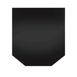 Globe Fire Funkenschutzplatte Sechseck Granit poliert