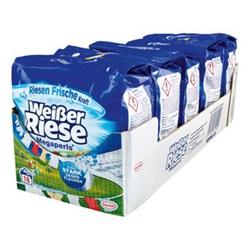 Weißer Riese Vollwaschmittel Megaperls 18 WL, 5er Pack