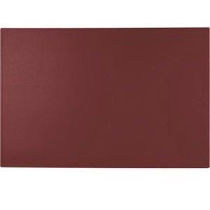 Läufer Schreibunterlage 49654, Synthos I, rot, Kunststoff, blanko, 65 x 52cm