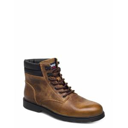 Tommy Hilfiger Classic Tommy Jeans Lace Up Boot Schnürstiefel Braun TOMMY HILFIGER Braun 42,43,40,41,46,45,44