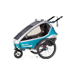 Qeridoo Fahrradkinderanhänger Qeridoo Kidgoo1 2020 blau