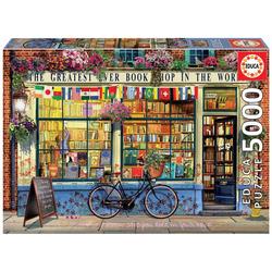 Educa Puzzle GREATEST BOOKSHOP IN THE WORLD, 5000 Puzzleteile