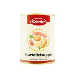 Kartoffelsuppe mit feinen Würstchen - Fleischer