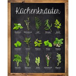 Home affaire Deco-Panel Küchenkräuter, 40/50 cm