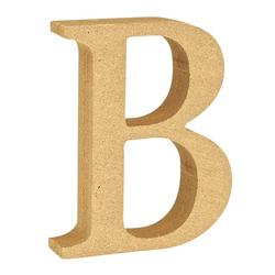 """VBS Buchstaben """"MDF"""" 8 cm x 1,5 cm bunt Buchstabe """"B"""""""