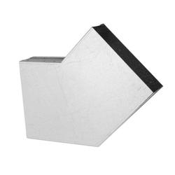 150 x 50 mm Flachkanal Bogen 45° waagerecht