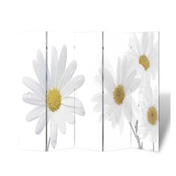 vidaXL Raumteiler vidaXL Raumteiler klappbar 200 x 170 cm Blume