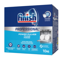 Calgonit Finish Spülmaschinenpulver Professional, Geschirrspülmittel gegen hartnäckige Verschmutzungen, 10 kg - Packung