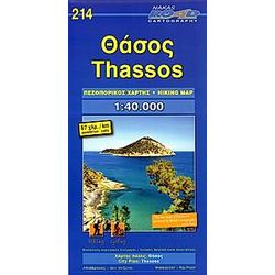 Thassos 1 : 40 000 - Buch