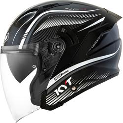 KYT NF-J Radar Jet helm, zwart-wit, XL