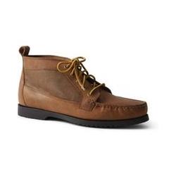Geschnürte Chukka Boots - 41 - Braun