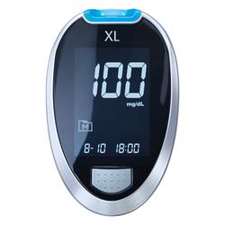 GLUCO CHECK XL Blutzuckermessgerät Set mg/dl