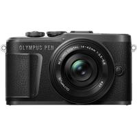 Olympus PEN E-PL10 schwarz + 14‑42mm EZ schwarz