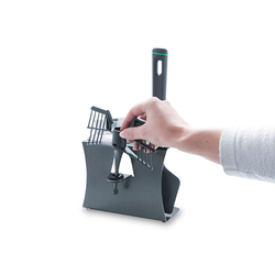 Leckerhelfer - automatisch Lecker Zubehör-Set Zubehör Halter für Thermomix von Leckerhelfer TM5, Zubehör für Thermomix TM5 grau