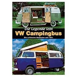 VW Campingbus - Die Legende lebt. David Eccles  - Buch