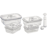 CASO DESIGN CASO 1197 VacuBoxx E Vakuumbehälter-Set Transparent