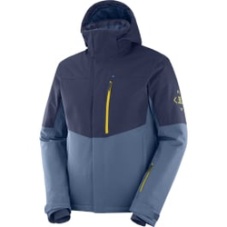 Salomon - Speed Jkt M Dark Den - Skijacken - Größe: L