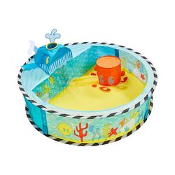 WORLDS APART Bällebad Kinder Bällebad mit Waldesign Pop-Up blau