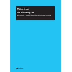Die Inhaltsangabe als Buch von Philipp Catani