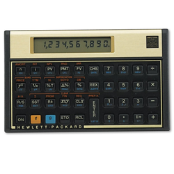 HP 12C Financial Calculator, 10-Digit LCD