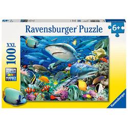 Ravensburger XXL Riff der Haie Puzzle 100 Teile