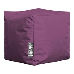 SITTING POINT Cube SCUBA Sitzsack lila