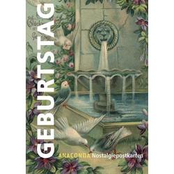 Nostalgie-Postkarten Geburtstag als Buch von