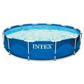 Intex Metall Frame Pool 366 x 76 cm ohne Filterpumpe