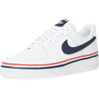 Nike Men's Air Force 1 '07 LV8 white/obsidian/habanero red 44