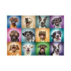 Trefl Puzzle Puzzle 1000 Teile - Lustige Hunde, Puzzleteile