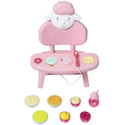 Baby Annabell Lunch Time Tisch Puppenhochstuhl, mit Licht- und Soundeffekten