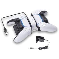 Raptor PS4 / PS5 Dual Ladestation für Controller