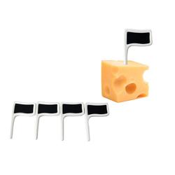 HTI-Living Küchenhelfer-Set Käsefahne, (4, 4-tlg), Häppchenspieße