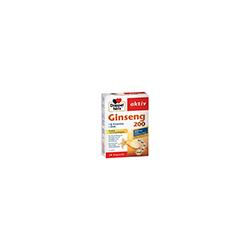 DOPPELHERZ Ginseng 200+B-Vitamine+Zink Kapseln 30 St