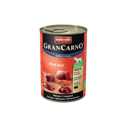 Animonda Gran Carno Hundefutter Adult Rind pur,  400 g