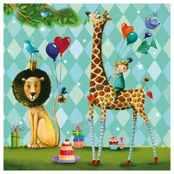 PPD Papierserviette Animals Garden 20 Stück 33 cm