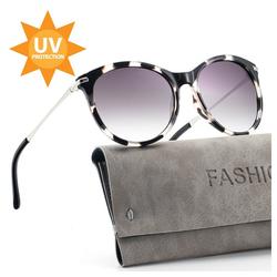ilikable Retrosonnenbrille ilikable Retro Vintage Sonnenbrille, Klassische Brille UV400 Schutz Modestil mit PC-Gläsern für Frauen (Packung, 1-St., 1) UV400 Schutz bunt