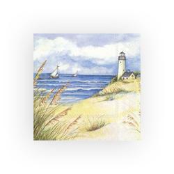 IHR Papierserviette Strand Träume, (20 St), 33 cm x 33 cm