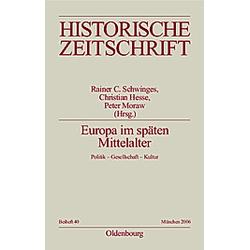 Europa im späten Mittelalter - Buch