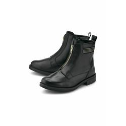 Boots Zipper-Boots COX schwarz